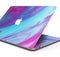 "Marbleized Pink Ocean Blue v32 - Skin Decal Wrap Kit Compatible with the Apple MacBook Pro, Pro with Touch Bar or Air (11"", 12"", 13"", 15"" & 16"" - All Versions Available)"