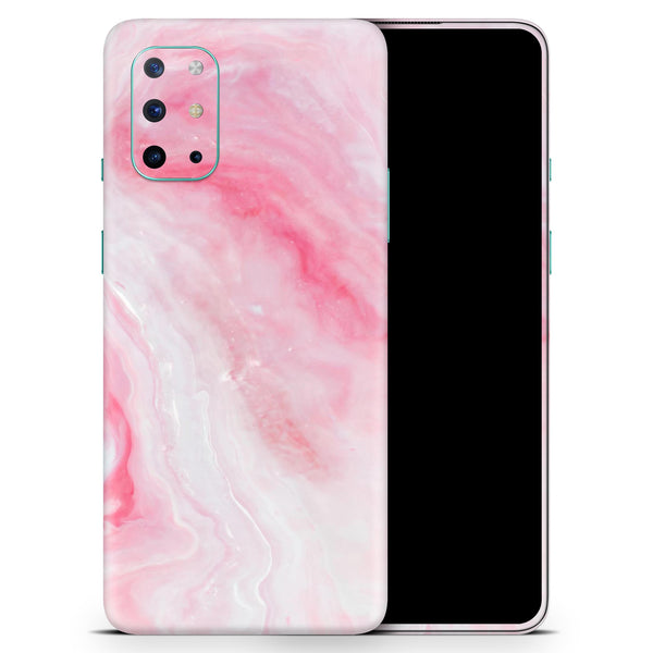 Marbleized Pink Paradise V6 - Full Body Skin Decal Wrap Kit for OnePlus Phones