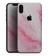 Marbleized Pink Paradise V6 - iPhone XS MAX, XS/X, 8/8+, 7/7+, 5/5S/SE Skin-Kit (All iPhones Available)