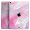 "Marbleized Pink Paradise V8 - Full Body Skin Decal for the Apple iPad Pro 12.9"", 11"", 10.5"", 9.7"", Air or Mini (All Models Available)"