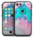 Marbleized Pink and Blue Paradise V432 - iPhone 7 LifeProof Fre Case Skin Kit