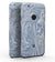 "Marbleized Swirling Subtle Blue - Full-Body Skin Kit for the Google 5"" Pixel or 5.5"" Pixel XL"