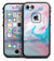 Marbleized Teal and Pink V2 - iPhone 7 LifeProof Fre Case Skin Kit