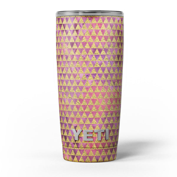 Micro_Golden_Triangles_Over_Pink_Fumes_-_Yeti_Rambler_Skin_Kit_-_20oz_-_V5.jpg