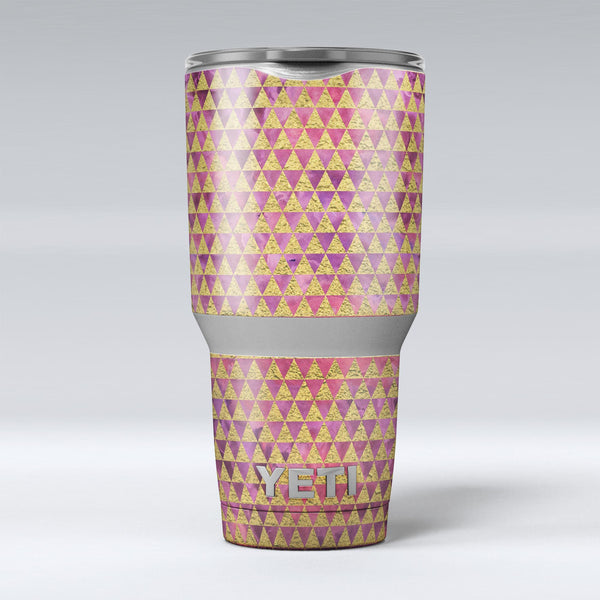 Micro_Golden_Triangles_Over_Pink_Fumes_-_Yeti_Rambler_Skin_Kit_-_30oz_-_V1.jpg