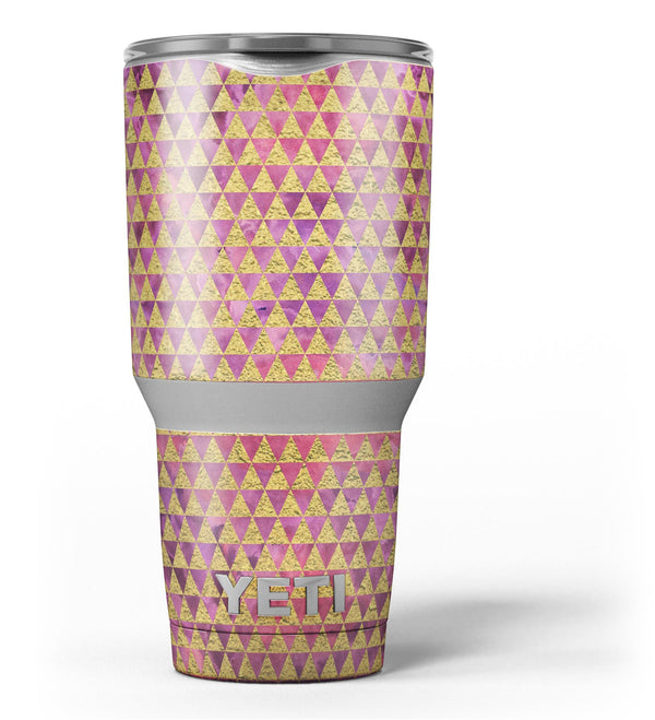 Micro_Golden_Triangles_Over_Pink_Fumes_-_Yeti_Rambler_Skin_Kit_-_30oz_-_V3.jpg