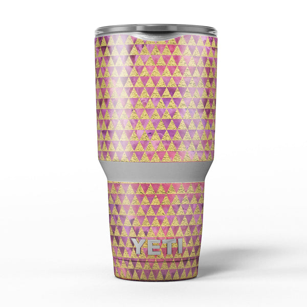 Micro_Golden_Triangles_Over_Pink_Fumes_-_Yeti_Rambler_Skin_Kit_-_30oz_-_V5.jpg
