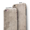 Micro Grunge Mustaches iPhone 6/6s or 6/6s Plus 2-Piece Hybrid INK-Fuzed Case