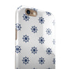 Micro Nay Ship Wheels Over White iPhone 6/6s or 6/6s Plus 2-Piece Hybrid INK-Fuzed Case