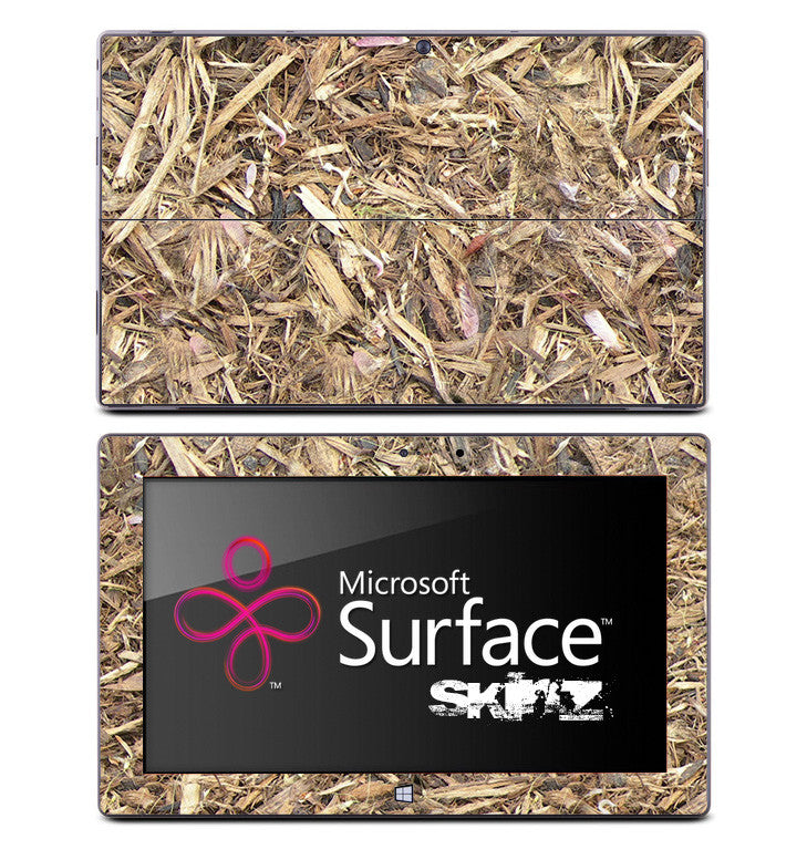 Mulched Wood Skin for the Microsoft Surface