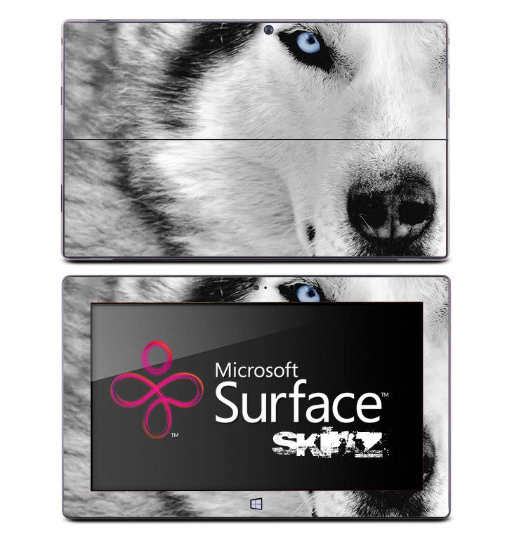 Arctic Wolf Skin for the Microsoft Surface