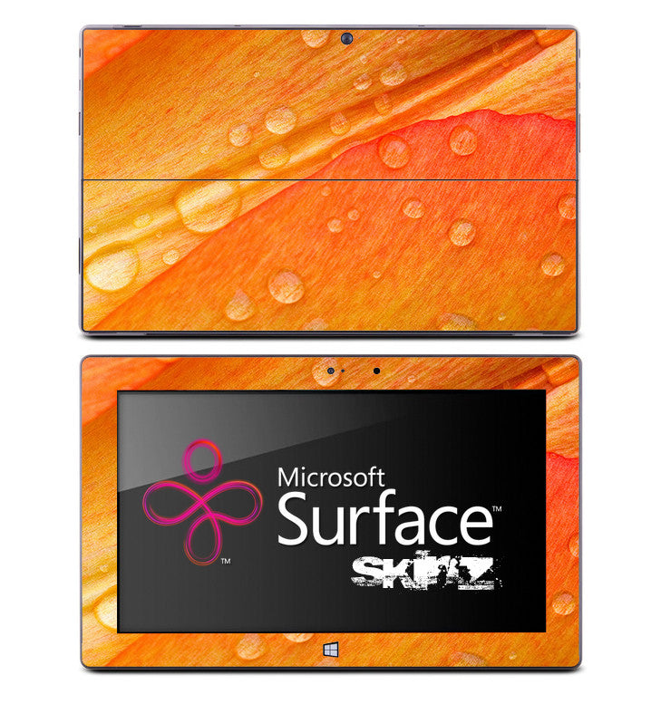 Orange Dew Pedal Skin for the Microsoft Surface