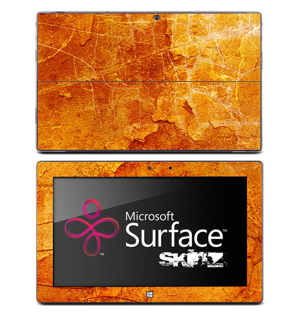 Antique Orange Skin for the Microsoft Surface