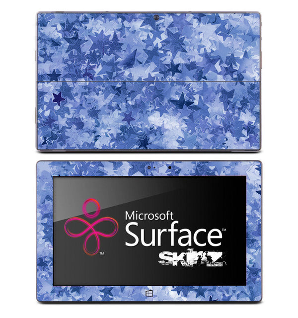 Light Blue Stars Skin for the Microsoft Surface