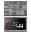 Layered Metal Skin for the Microsoft Surface