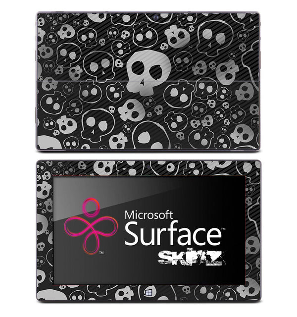 Dark Skulls Skin for the Microsoft Surface