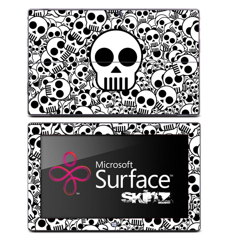 Light Skulls Skin for the Microsoft Surface