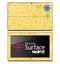 Stamped Yellow Flower Skin for the Microsoft Surface