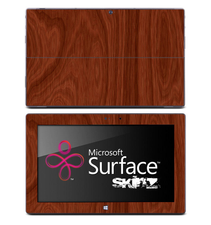 Elegant Wood Skin for the Microsoft Surface