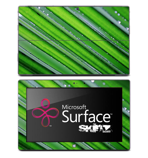 Neon Green Grass Skin for the Microsoft Surface