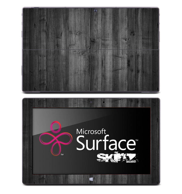 Dark Aged Wood Skin for the Microsoft Surface