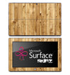 Vertical Light Oak Skin for the Microsoft Surface