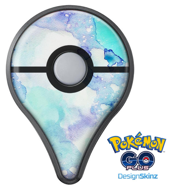 Mint Absorbed Watercolor Texture Pokémon GO Plus Vinyl Protective Decal Skin Kit