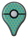 Mint Summer Gold v1 Pokémon GO Plus Vinyl Protective Decal Skin Kit
