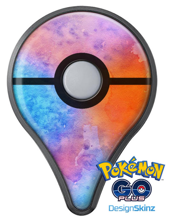 Mixed 8652 Absorbed Watercolor Texture Pokémon GO Plus Vinyl Protective Decal Skin Kit