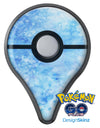 Mixed Blue Absorbed Watercolor Texture Pokémon GO Plus Vinyl Protective Decal Skin Kit