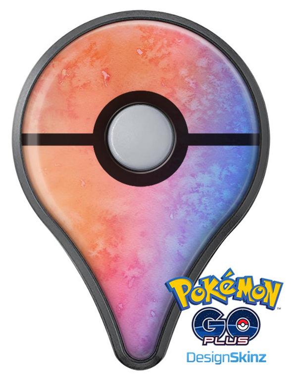 Mixed Pink 32 Absorbed Watercolor Texture Pokémon GO Plus Vinyl Protective Decal Skin Kit
