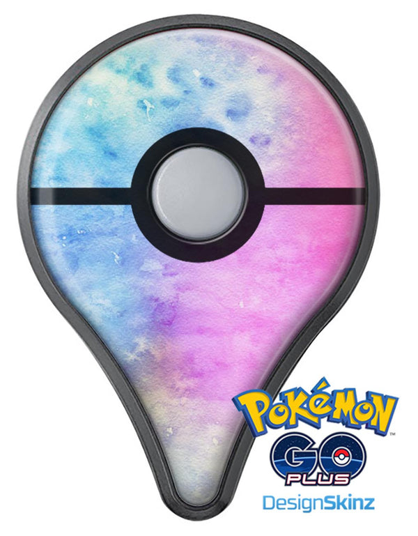 Mixed Pink 4423 Absorbed Watercolor Texture Pokémon GO Plus Vinyl Protective Decal Skin Kit