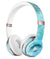 Mixed Teal 56 Absorbed Watercolor Texture Full-Body Skin Kit for the Beats by Dre Solo 3 Wireless Headphones