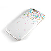 Multicolor Birthday Stars Over White  iPhone 6/6s or 6/6s Plus 2-Piece Hybrid INK-Fuzed Case