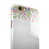 Multicolor Dots Have Risen iPhone 6/6s or 6/6s Plus 2-Piece Hybrid INK-Fuzed Case