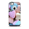 Multicolored Candy Hearts Skin for the iPhone 5c OtterBox Commuter Case