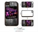 The Relapse Symphony Scratched Light n-Sert Case for the iPhone 4/4s or 5