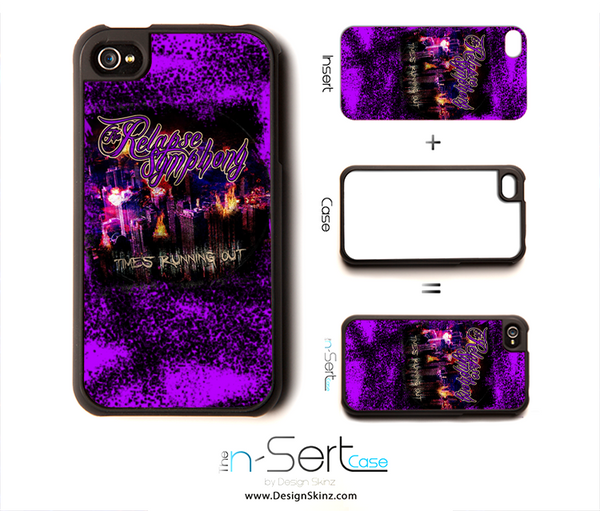 The Relapse Symphony Rock n' Purple n-Sert Case for the iPhone 4/4s or 5