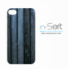 Washed Blue Wood n-Sert