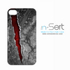 Red Cracked Stone n-Sert