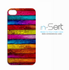 Colorful Wood Slabs n-Sert