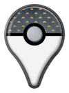 Navy Gold Foil v12 Pokémon GO Plus Vinyl Protective Decal Skin Kit
