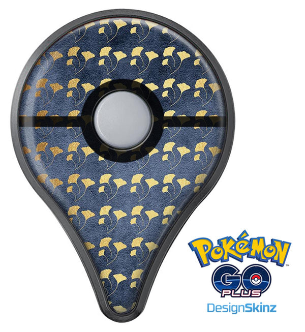 Navy Gold Foil v4 Pokémon GO Plus Vinyl Protective Decal Skin Kit