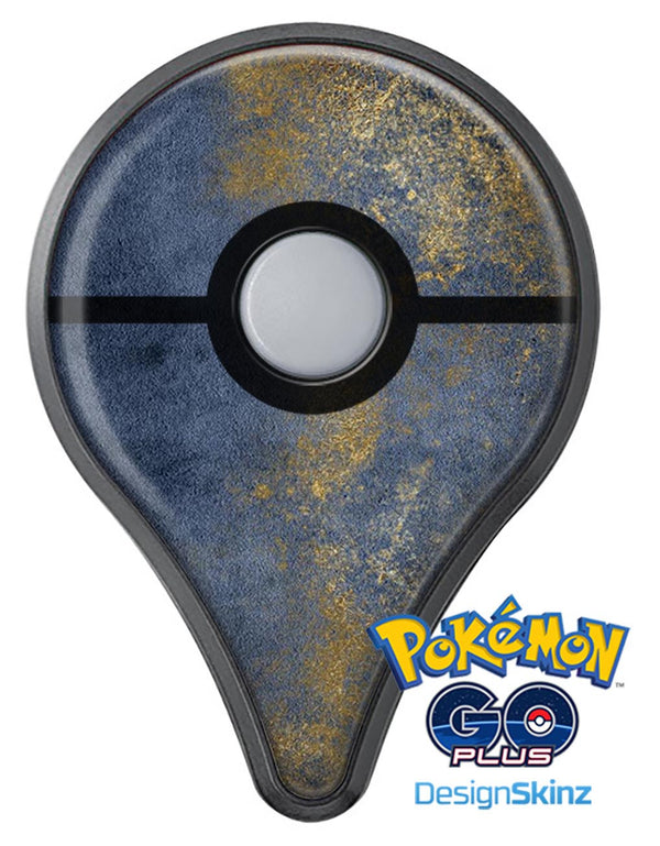 Navy Gold Foil v6 Pokémon GO Plus Vinyl Protective Decal Skin Kit