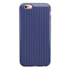 Navy SemiCircles Over Coral  iPhone 6/6s or 6/6s Plus 2-Piece Hybrid INK-Fuzed Case