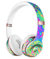 Neon Color Swirls V2 Full-Body Skin Kit for the Beats by Dre Solo 3 Wireless Headphones