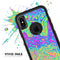 Neon Color Swirls V2 - Skin Kit for the iPhone OtterBox Cases