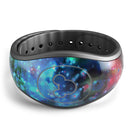 Neon Colored Paint Universe - Decal Skin Wrap Kit for the Disney Magic Band