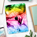 "Neon Glowing Fumes - Full Body Skin Decal for the Apple iPad Pro 12.9"", 11"", 10.5"", 9.7"", Air or Mini (All Models Available)"