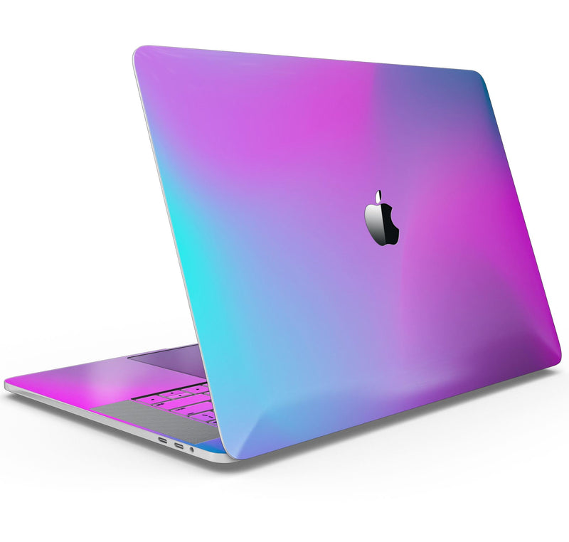 "Neon Holographic V1 - Skin Decal Wrap Kit Compatible with the Apple MacBook Pro, Pro with Touch Bar or Air (11"", 12"", 13"", 15"" & 16"" - All Versions Available)"